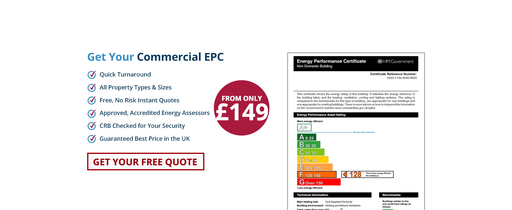 Commercial Energy Performance Certificates