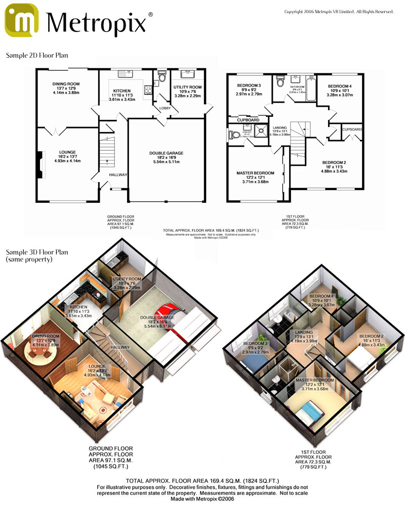 Estate agent floor plans epc one for Floor plans for estate agents